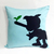 Pick Your Color. Pinocchio Light Blue Decorative Pillow Cover Pillow Case. Boys