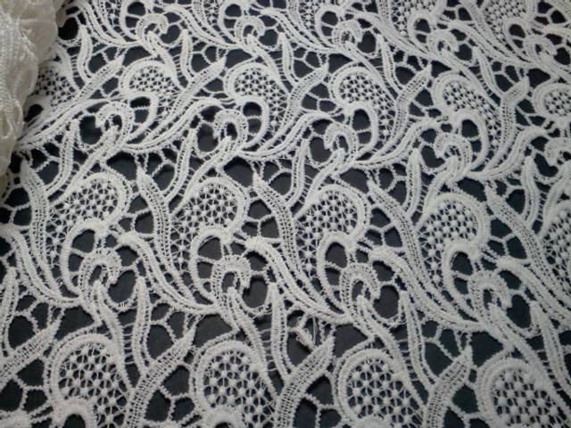 White Panel Lace