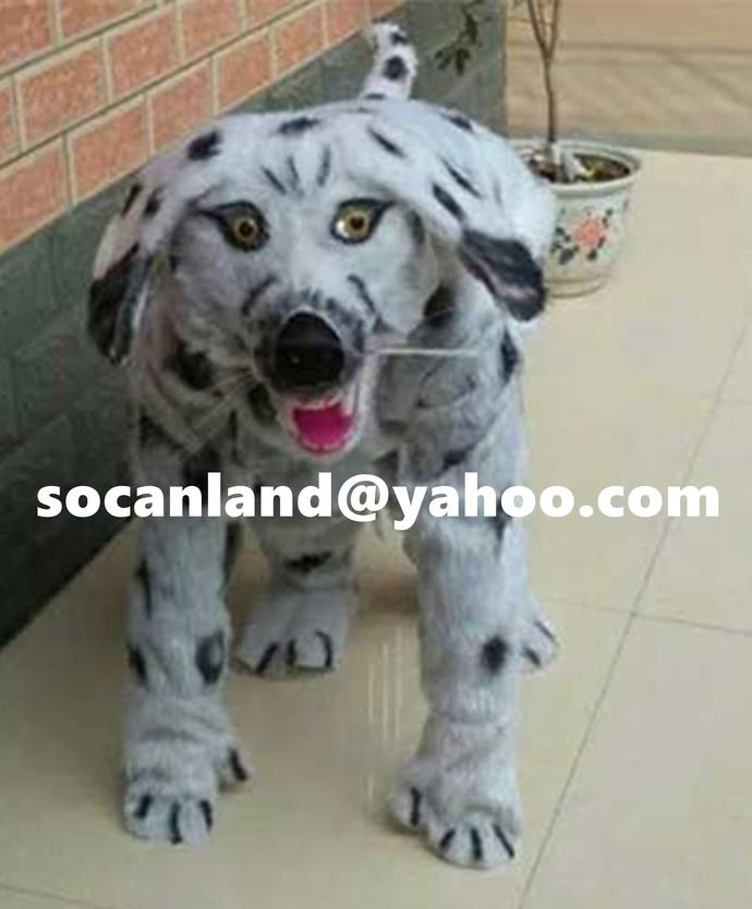 Handmade Dog Fursuit,Dog Xmas Fursuit,Dog Xmas Furry Suits,Dog Halloween
