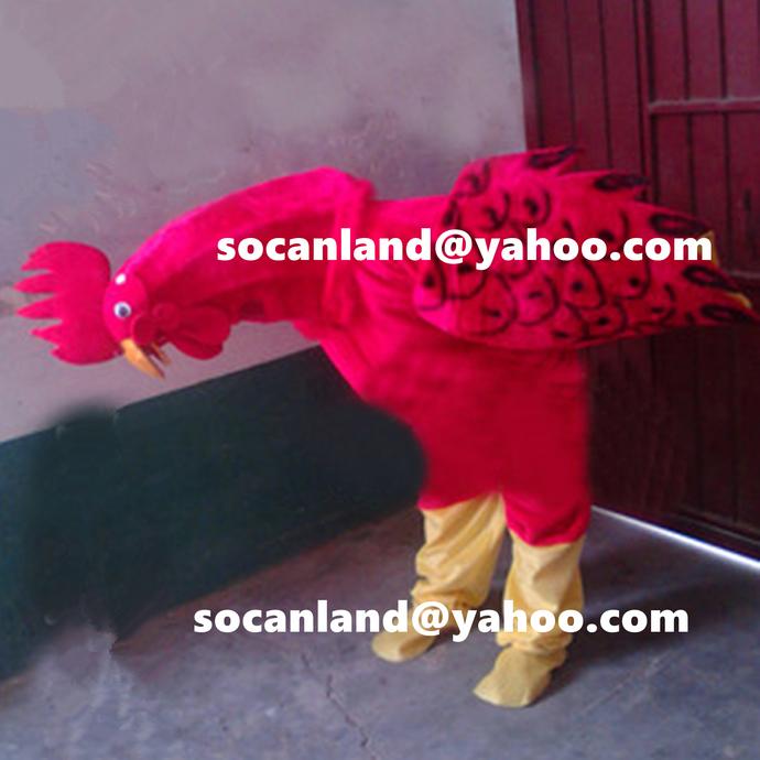 Handmade Cock Costume,Cock Halloween Costume,Chicken Halloween Costume,Farm