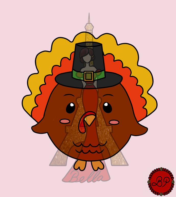 Mr.Turkey Digital Stamp