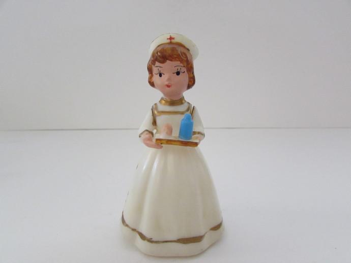 Vintage Wilton Nurse Cake Top, Cake Toppers, Vintage Wilton Items, Nurse Cake