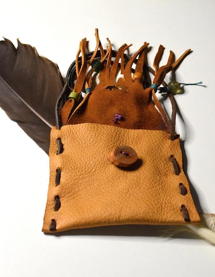 Deer Skin Medicine Pouch