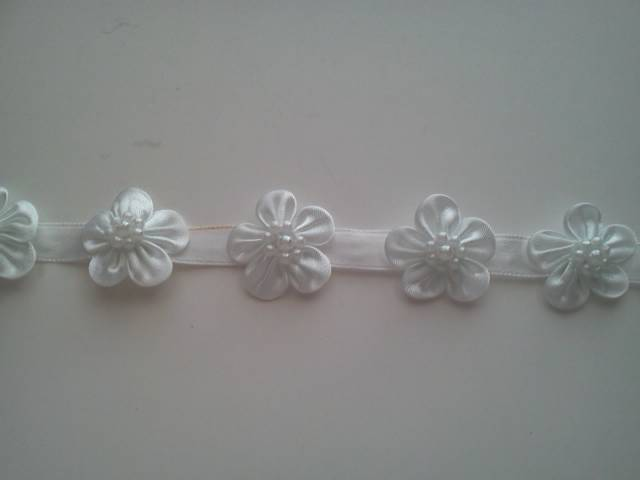 White Flower Trim