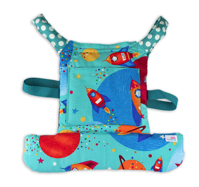 Unisex Doll Carrier for boys and girls, Carrier for action figures, dolls and