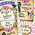 Alice in Wonderland Ticket Invitation - Alice in Wonderland Invitation -