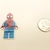 Lego Spiderman resin needle minder, magnet