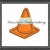 Dump truck and safety cone. Truck 4x4 5x7 6x9 Cone 1.5 in 2in digital applique