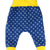 Unisex Baby Denim Pocket Trousers, Baby Jeans, Play Trousers, Peace, Imagine,