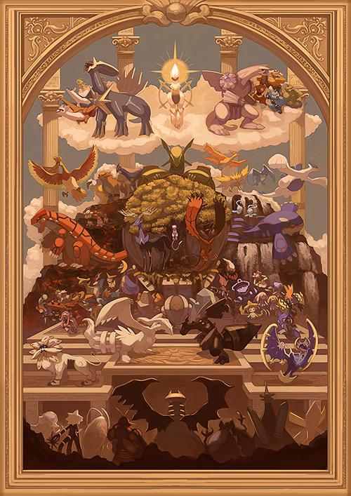 [PREORDER] Pokemon Creation Lore Print