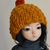Mustard hat for msd ball jointed dolls