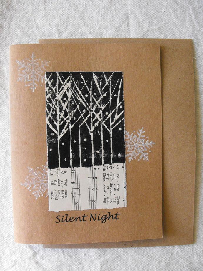 original handmade greeting card blank art by am designs on zibbet