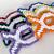 Unique Ribbon Fish Christmas Ornament