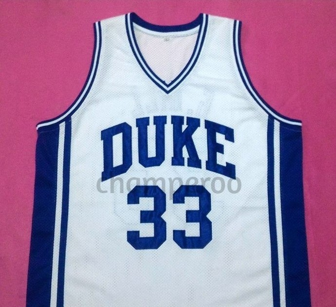 896472b9264 GRANT HILL Duke Blue Devils White College Jersey Many Size Unisex