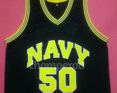 DAVID ROBINSON NAVY Midshipmen Away College Jersey Many Size Unisex 22c71eb72