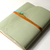 Mint Leather Mixed Media Sketchbook, Upcycled Mint Leather Sketchbook