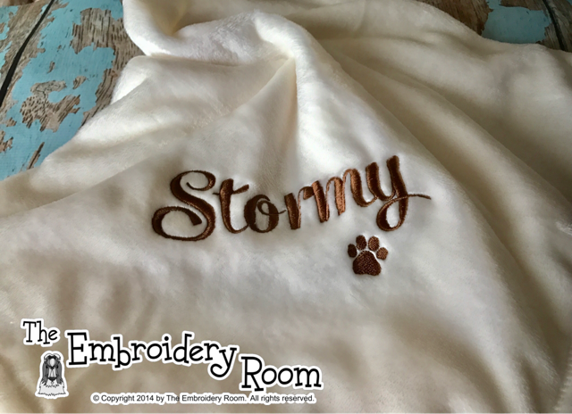 Cat or Dog Personalized Blanket