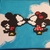 Mickey and Mini Mouse Perler Art on Canvas Acrylic Disney