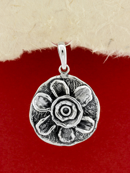 Silver Pendant Necklace/925 Sterling Silver Pendant Necklace/Pendant Necklace
