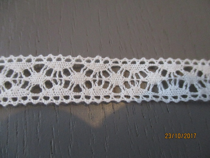 1yd Cotton Crochet Lace Trim