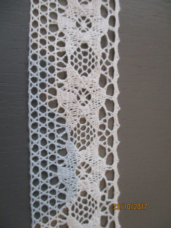 1yd Cotton Crochet Trim