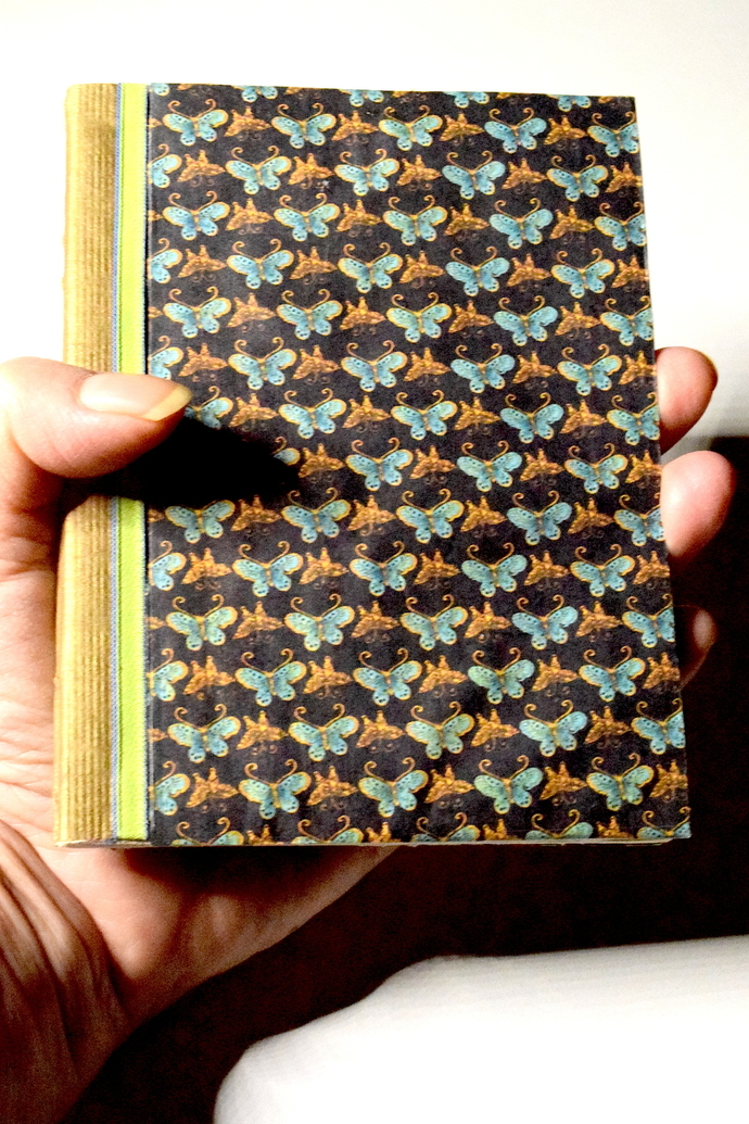 Gold Mini Butterfly Book