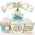 Alice in Wonderland Cupcake Wrappers - Printable Cupcake Wrappers - Alice in