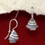 Banded Agate Earrings/Silver Earrings/Handmade Earrings/925 Silver