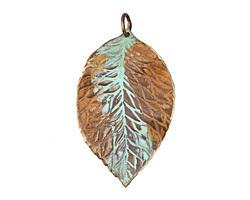 Vintaj Hibiscus Leaf