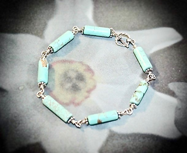 Turquoise Dreams Sterling Silver Bracelet