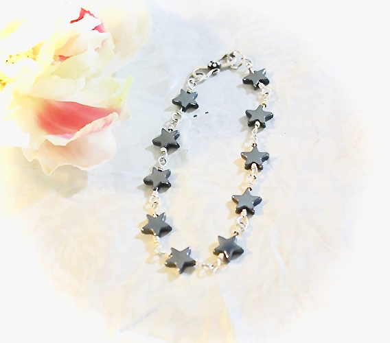Stars Sterling Silver Bracelet