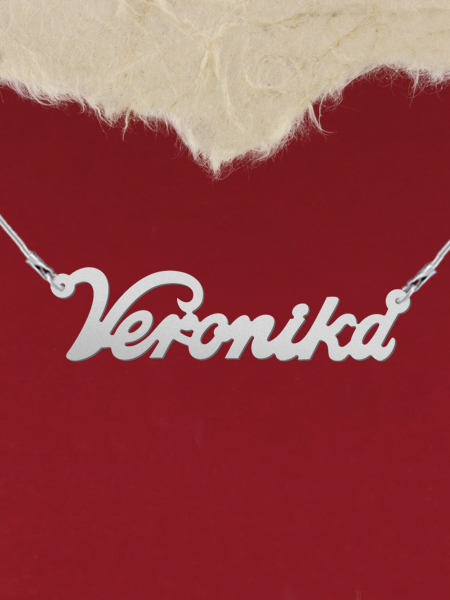 925 Silver Name Necklace Veronika/Custom Name Jewelry/Personalized ANY NAME