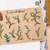 Evergreen ferns & pine cone - decorative vintage look kraft watercolour planner