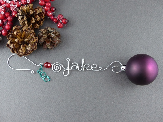 Custom Christmas Ornaments - 2017 - Christmas Ornament - Personalized Ornament