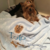 Yorkie-Top Knot-Custom Embroidered Dog Blanket