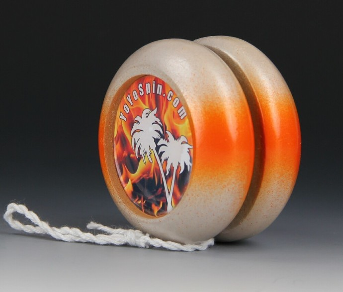 Imperial Fixed Axle Maple Wood Yo-Yo, made by YoYoSpin.com