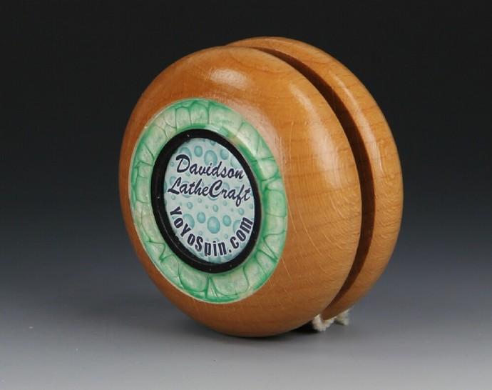 Imperial Fixed Axle Maple Wood Yo-Yo, made by YoYoSpin.com