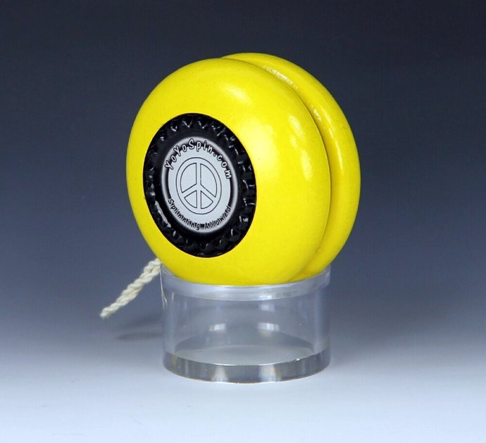 Parker Pro Wood YoYo, Imperial Fixed Axle, Made in the 1970's and Customized by
