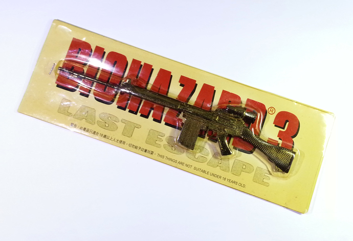"7.5"" Hong Kong Capcom Comic BIOHAZARD 3 Last Escape Promo Assault Long Rifle"