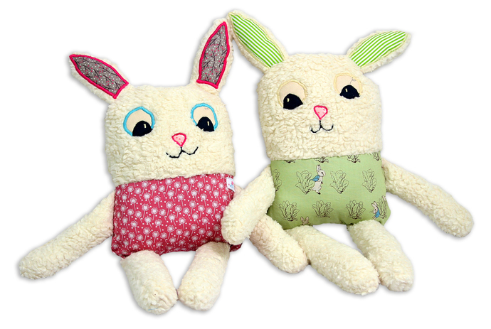 My best friend RABBIT, soft toy, plush animal, baby pillow