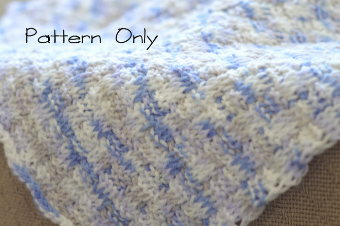 Baby Blanket Crochet Pattern Baby Afghan By Kathyneilsen On Zibbet