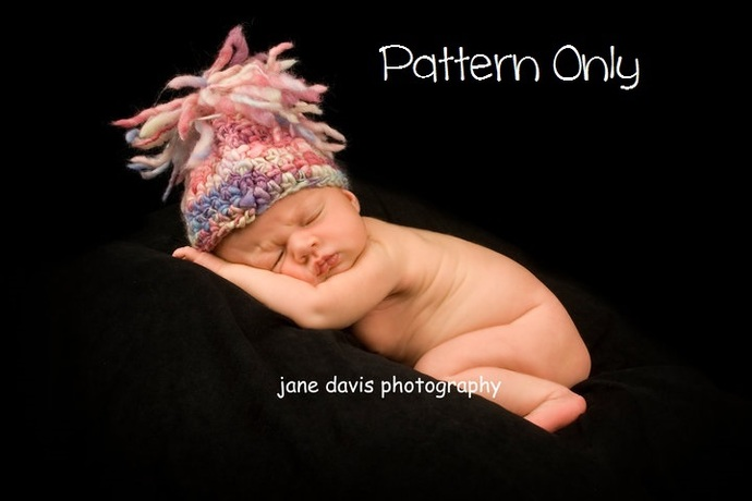 Newborn Crochet Pattern, Baby Crochet by kathyneilsen on Zibbet