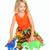 Twirly Pocket Dress Dinosaur Princess
