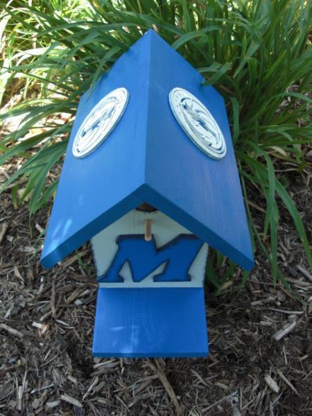Birdhouse - Dallas Mavericks by ABCbirdhouses