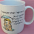 Thought For The Day Mug  - Vintage 1988