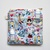 Cupcake patchwork square zip pouch
