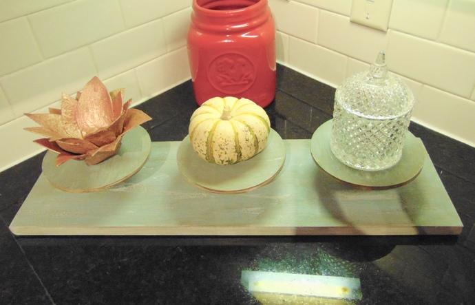 Rustic Wooden 3 Tier Dessert/Cupcake Stand