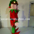 Handmade Elf Xmas Costume,Christmas Elf Costumes,Elf Christmas Costumes,Elf