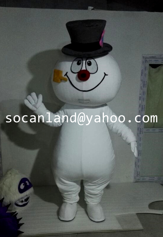 Handmade Snowman Frosty Costume,Christmas Frosty Snowman Costumes,Snowman Adults