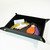 Italian Leather Tray Leather Valet Tray Black Leather Organizer Leather Tray For
